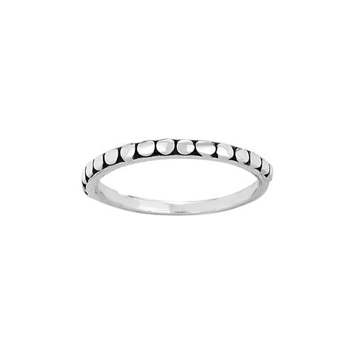 Dot Band, $11 | Sterling Silver | Light Years Jewelry