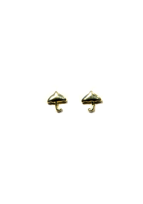 Umbrella Posts, $9 | Silver, Gold, Rose Gold Studs | Light Years Jewelry