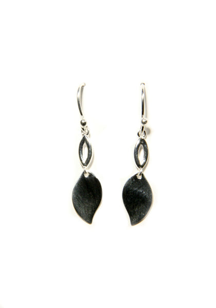 Classic Leaf Dangles, $12 | Sterling Silver | Light Years Jewelry