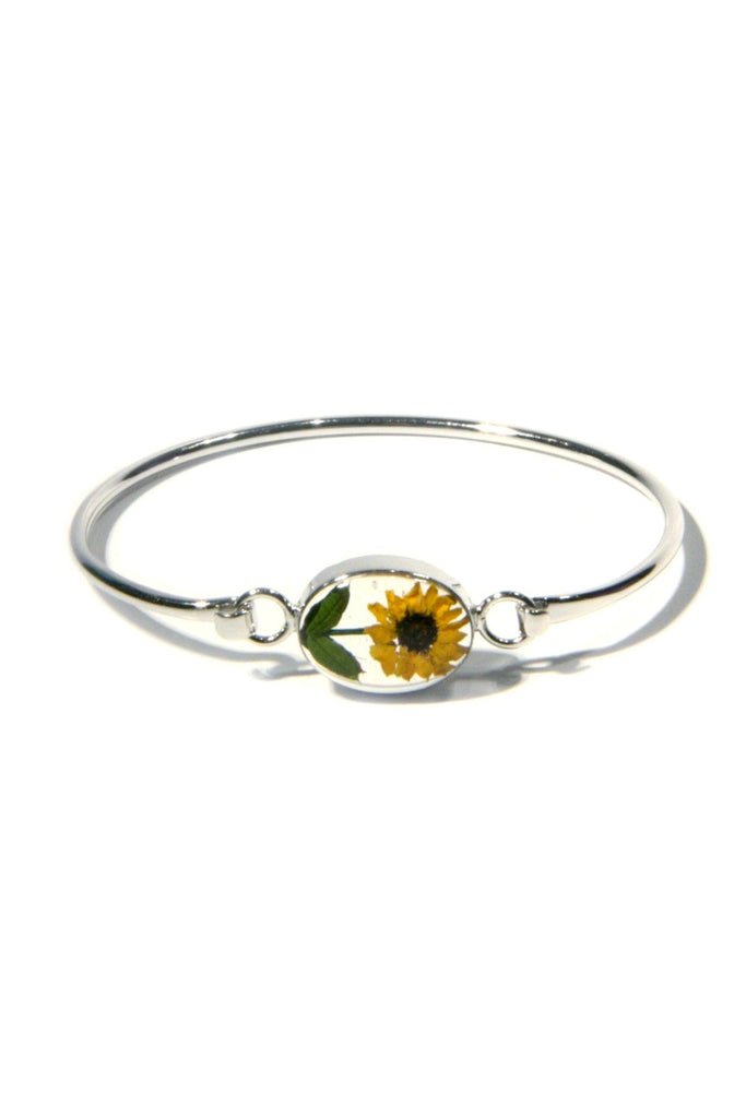 Bonsai Flower Bracelets, $20 | Sunflower Cuff | Light Years Jewelry