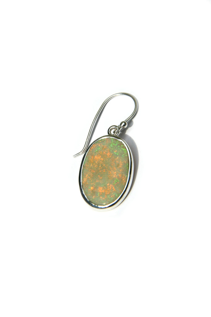 Natural Opal Dangles, $58 | Sterling Silver | Light Years Jewelry