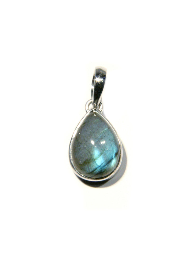 Labradorite Necklace | Sterling Silver Pendant | Light Years Jewelry