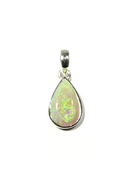 Natural Opal Pendant, $29 | Sterling Silver | Light Years Jewelry