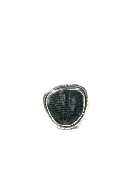 Trilobite Fossil Ring, $42 | Sterling Silver | Light Years Jewelry