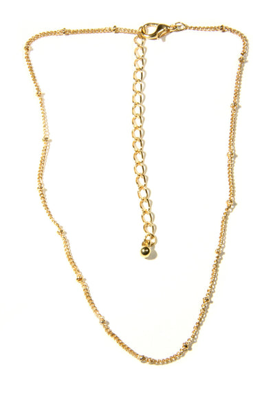 Gold Bead Choker, $5 | Fashion Necklace | Light Years Jewelry