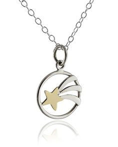 Shooting Star Necklace, $38 | Sterling Silver | Light Years Jewelry