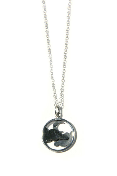 Moon and Clouds Necklace, $38 | Sterling Silver | Light Years Jewelry