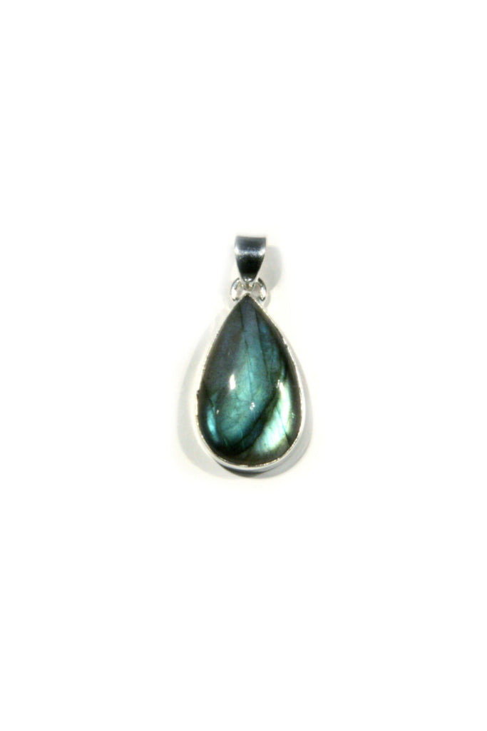 Labradorite Teardrop Pendant, $22 | Sterling Silver | Light Years Jewelry