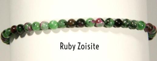 Ruby Zoisite | Power Mini Bracelets