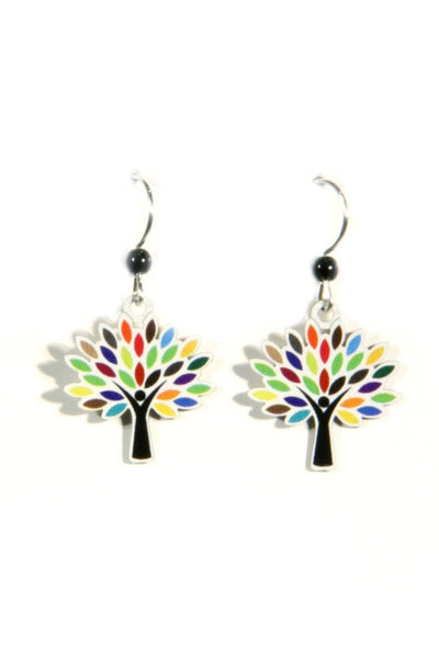 Rainbow Trees by Sienna Sky, $15 | Handmade Earrings | Light Years