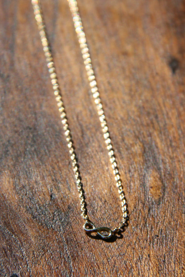 Tiny Infinity Necklace, $9 | Gold Choker | Light Years Jewelry