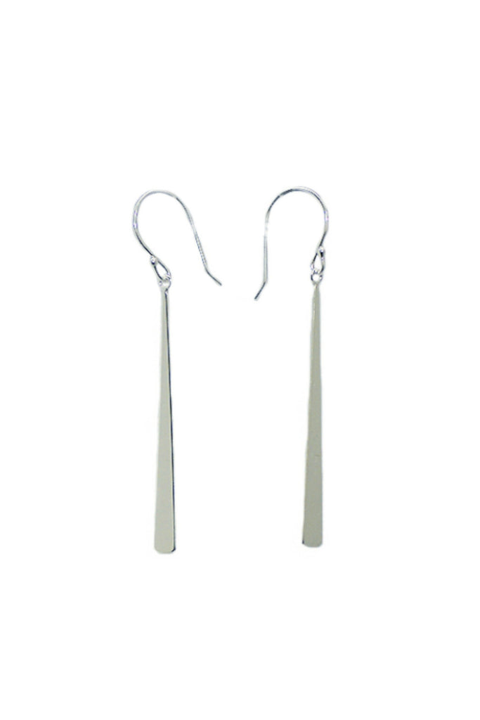Long Bar Drop Earrings, $16 | Silver, Gold, Rose Gold | Light Years
