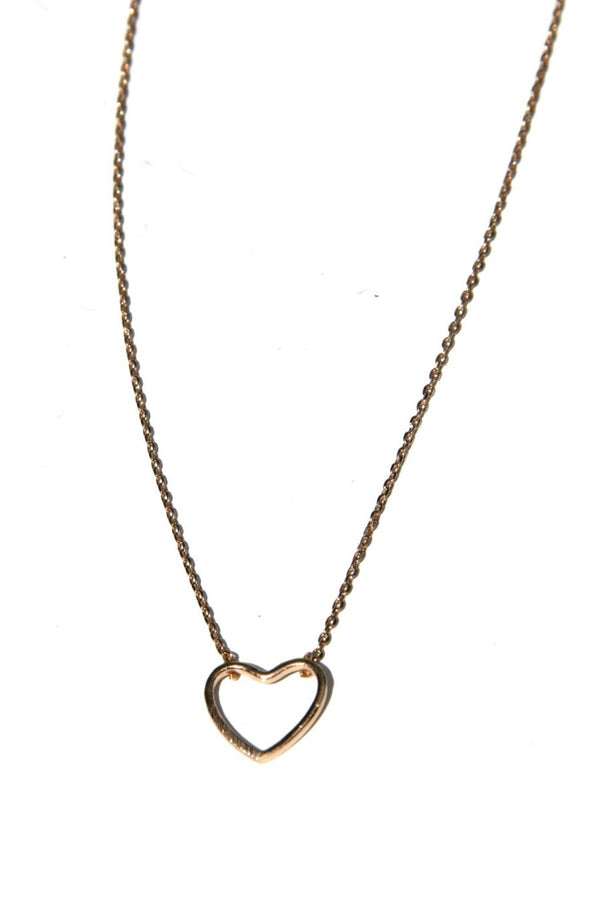 Open Heart Necklace, $10 | Rose Gold Plated | Light Years Jewelry