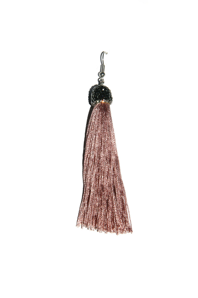 Tassel Dangles with Crystals, $12 | Blush | Light Years Jewelry