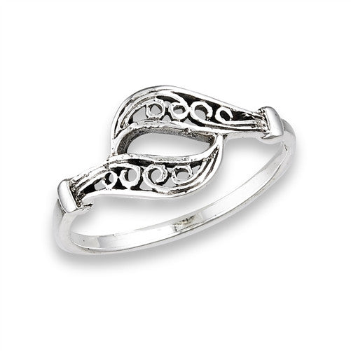Dueling Filigree Ring, $12 | Sterling Silver | Light Years Jewelry
