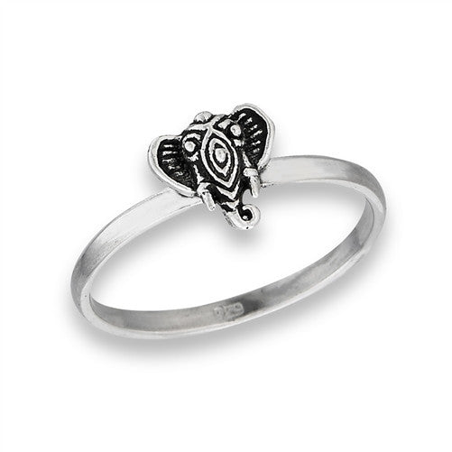 Detailed Elephant Ring, $11 | Sterling Silver 4-8 | Light Years Jewelry