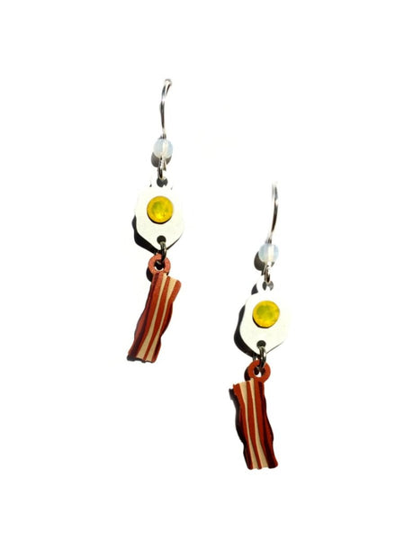 Bacon & Eggs Earrings by Sienna Sky | Sterling Silver | Light Years