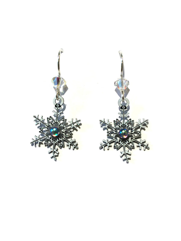 Fancy Snowflake Earrings by Sienna Sky