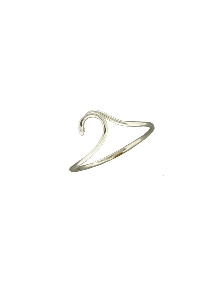 Sterling Silver Wave Ring | Sizes 6 7 8 9 | Light Years Jewelry
