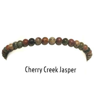 Cherry Creek Jasper | Power Mini Bracelets