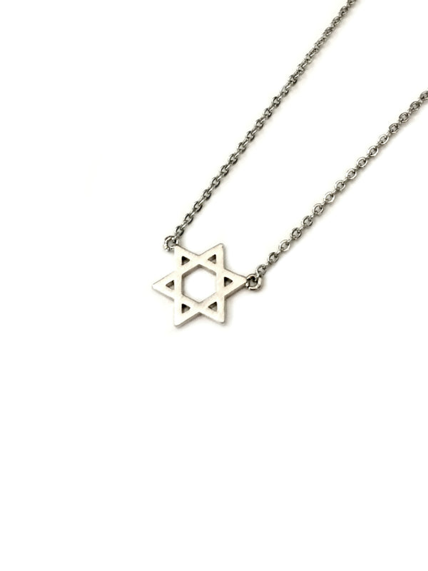Star of David Necklace | Silver Gold Fashion Chain Pendant | Light Years