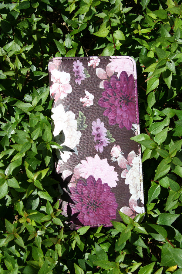 Purple Floral Wallet, $12 | Clutch Purse | Light Years Jewelry