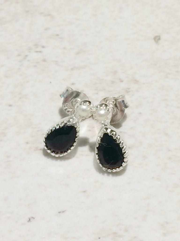 Mixed Stone Stud Posts | Sterling Silver Earring | Light Years Jewelry
