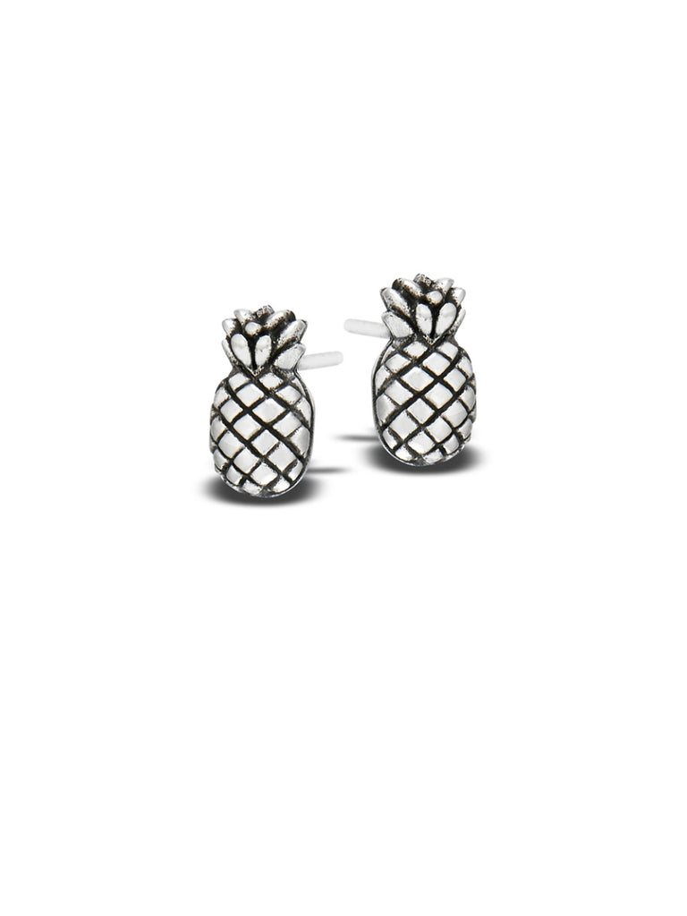 Pineapple Posts | Sterling Silver Studs Earrings | Light Years Jewelry
