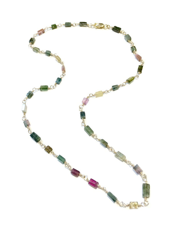 Handmade Raw Gemstone Necklace | 14kt Gold Fill | Light Years Jewelry