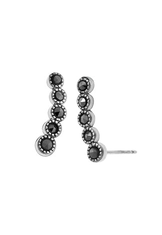 Marcasite Climber Studs, $18 | Sterling Silver | Light Years Jewelry