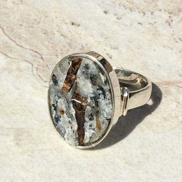 Astrophyllite Ring, $26 | Sterling Silver | Light Years Jewelry