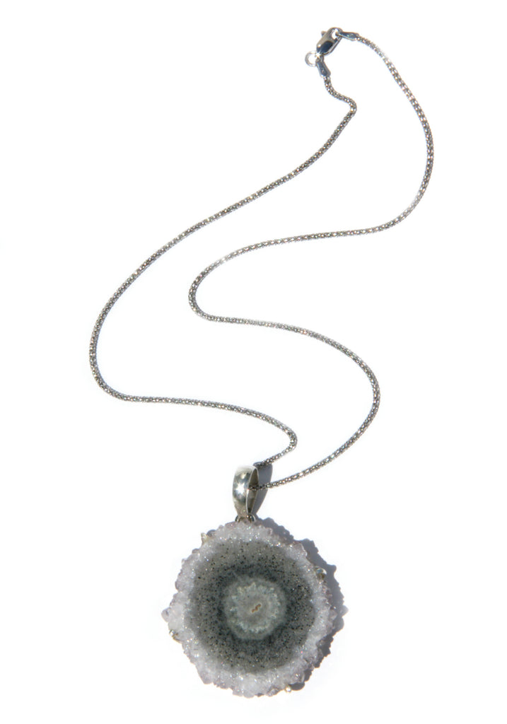 Amethyst Stalactite Necklace | Sterling Silver | Light Years Jewelry