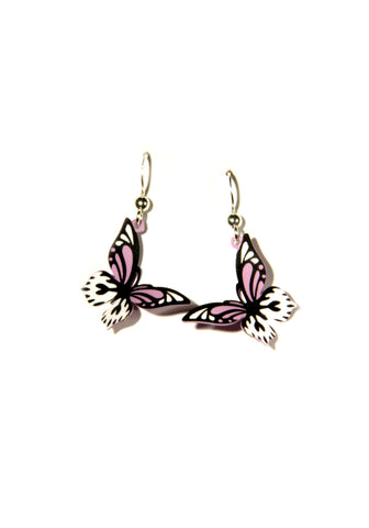 Folded Butterfly Earrings by Sienna Sky | Sterling Silver | Light Years
