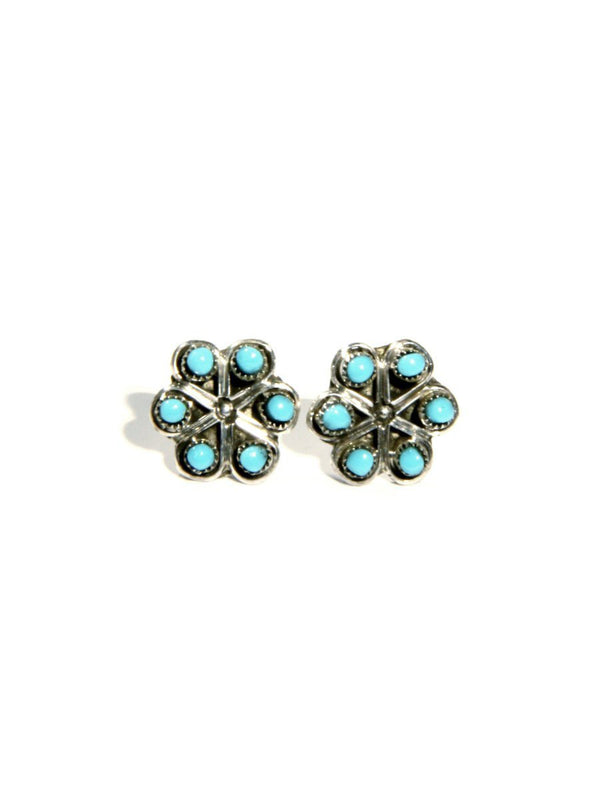 Navajo Flower Posts | Sterling Silver Native American | Light Years