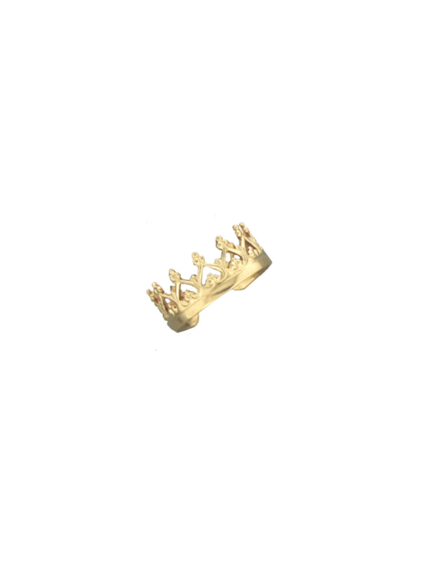 Crown Ear Cuff | Sterling Silver 14k Gold Filled Earrings | Light Years