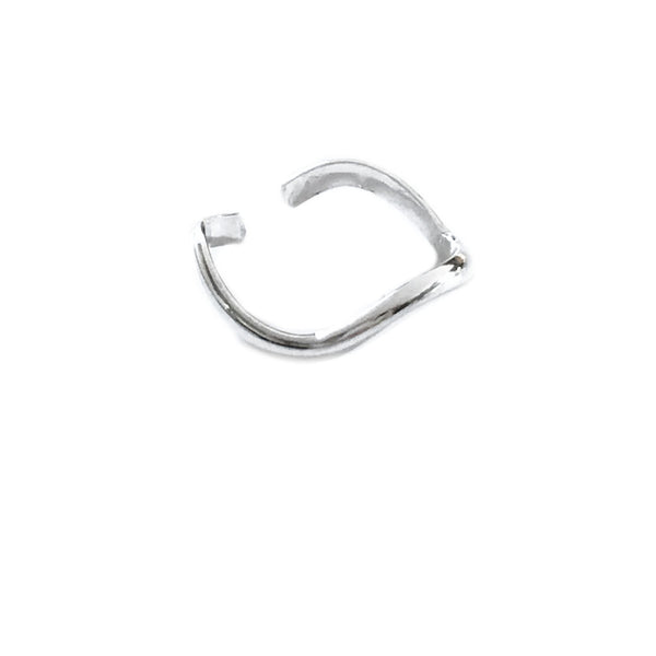 Wavy Band Toe Ring | Sterling Silver Gold Filled | Light Years Jewelry