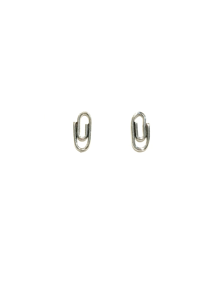 Paperclip Posts | Sterling Silver Studs Earrings | Light Years Jewelry