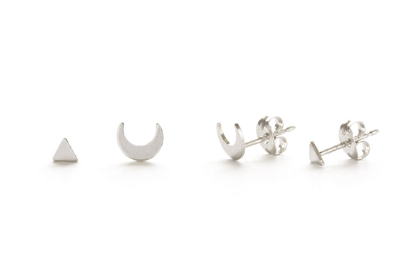 Mystic Studs Combination Set, $20 | Sterling Silver Posts | Light Years