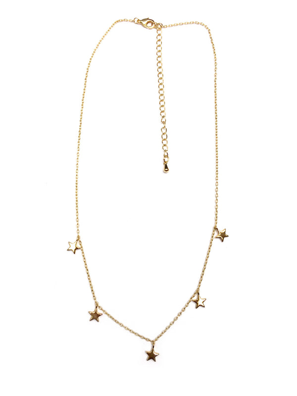 Dangling Stars Necklace | Gold or Silver | Light Years Jewelry