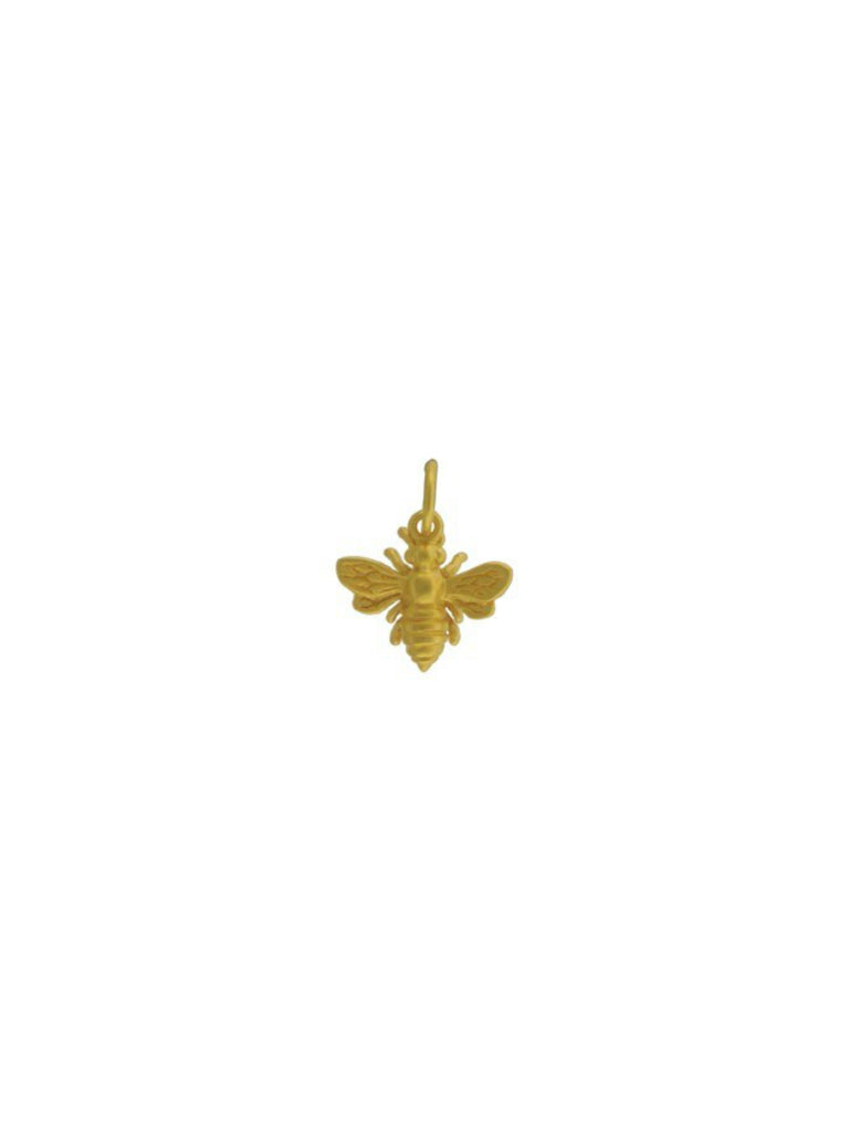 Small Golden Bee Necklace | Gold Vermeil Chain Pendant | Light Years