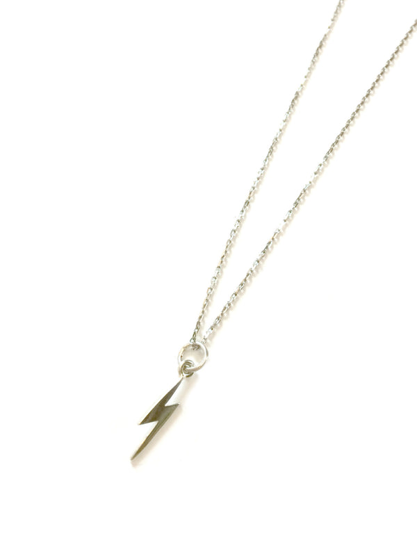 Lightning Bolt Necklace | Sterling Silver Pendant Chain | Light Years