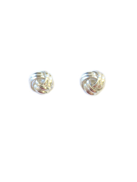Large Knot Posts | Sterling Silver Stud Earrings | Light Years Jewelry