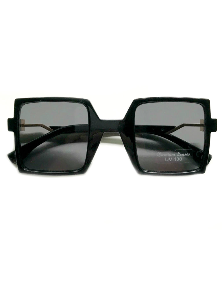 Colorful Square Sunglasses | Black Red Blue Green Shades | Light Years