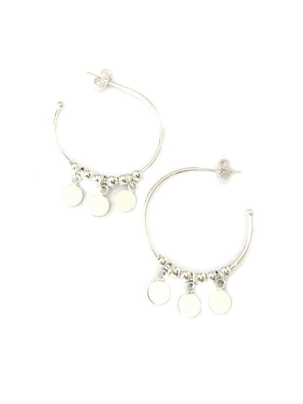 Chandelier Post Hoops | Sterling Silver Earrings | Light Years Jewelry