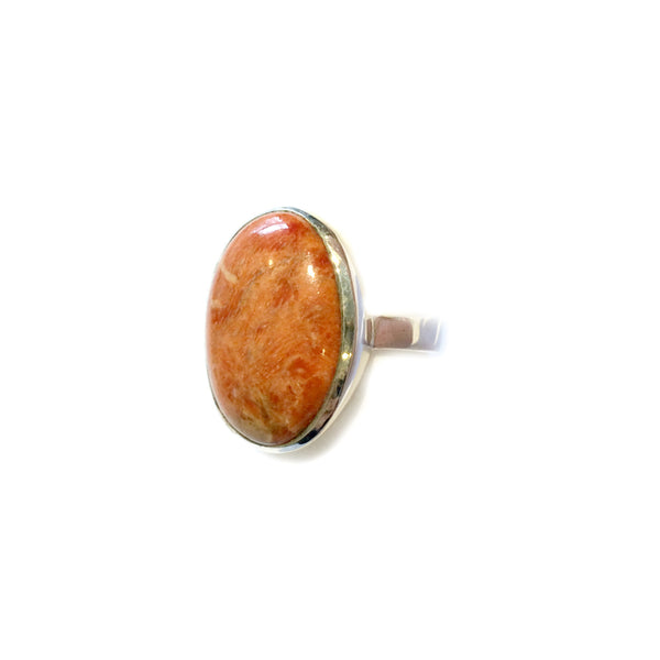 Sponge Coral Ring | Sterling Silver Size 5 6 7 8 9 10 | Light Years