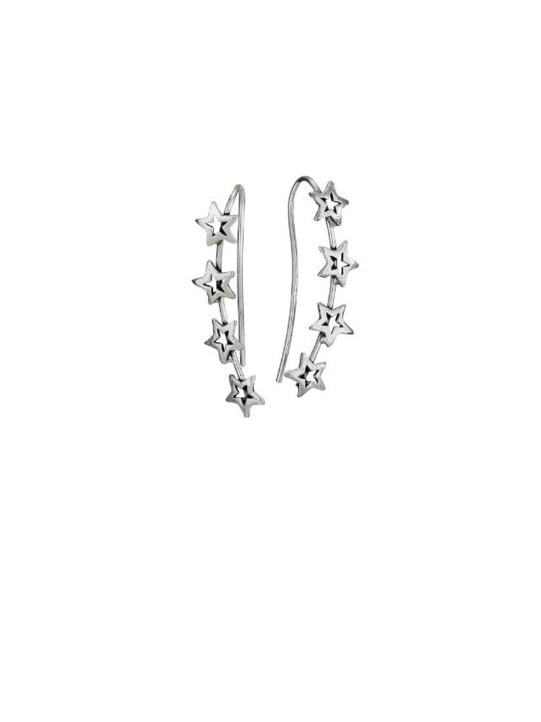 Star Ear Climber Earrings | Sterling Silver | Light Years Jewelry