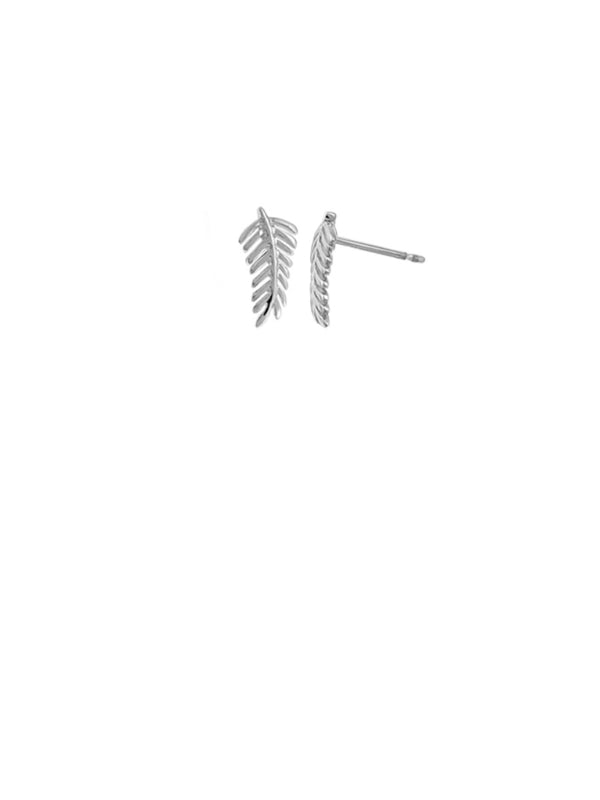 Fern Leaf Posts | Sterling Silver Stud Earrings | Light Years Jewelry