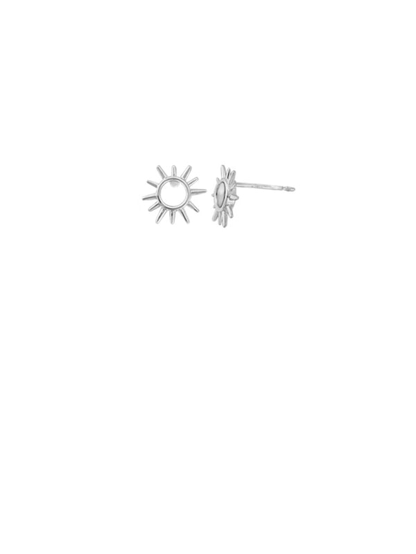 Sun Burst Posts | Sterling Silver Stud Earrings | Light Years Jewelry