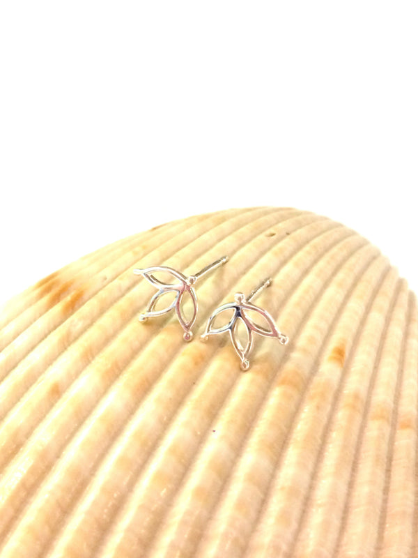 Pointed Petals Posts | Sterling Silver Stud Earrings | Light Years