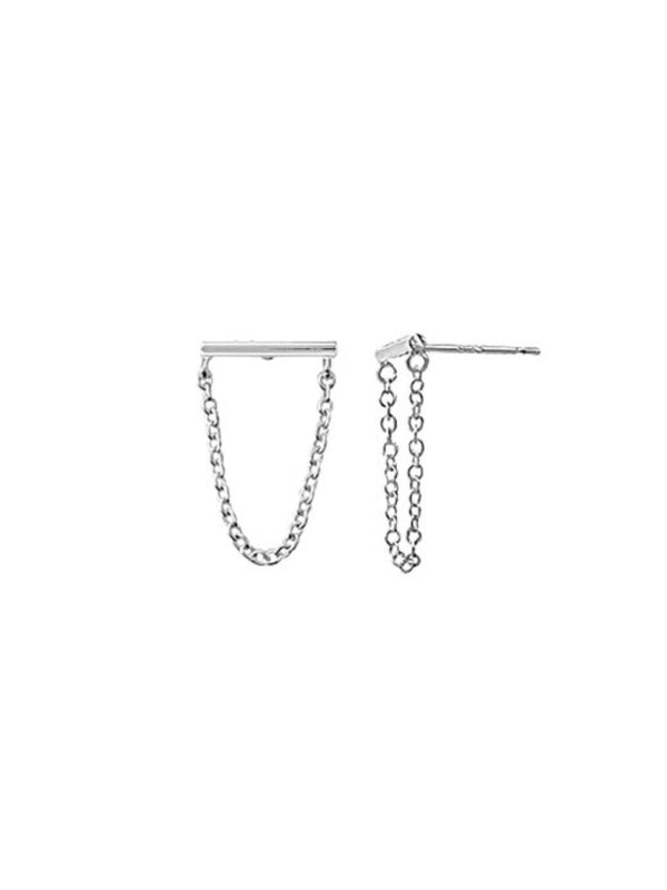 Bar & Chan Posts | Sterling Silver Earrings | Light Years Jewelry